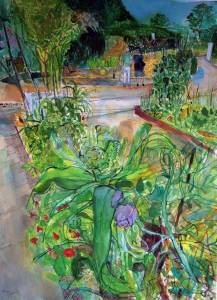 Demonstration-Beds-Harlow-Carr-watercolour-Peter-Quinn-RWS-2014