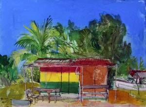 Lion-Rock,-Beach-Bar,-Jamaica-Peter-Quinn-RWS-watercolour-2015webv