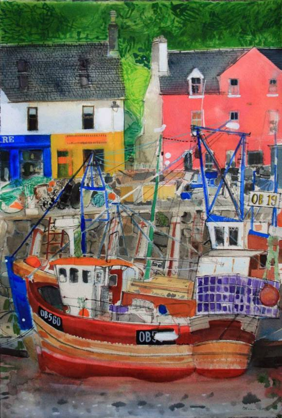 Low-Tide,-Tobermory,-Isle-of-Mull-Peter-QuinnRWS-2015w