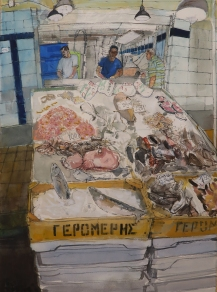 Crete, In the Fish Market