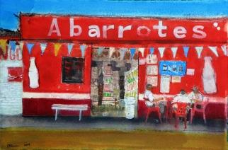 Roadside cafe, Chiapas, Mexico